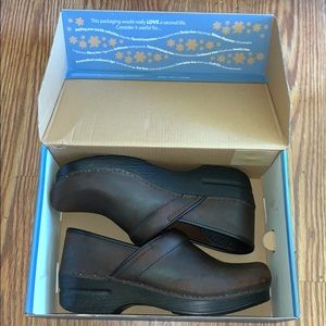 Antique Brown Dansko Shoes